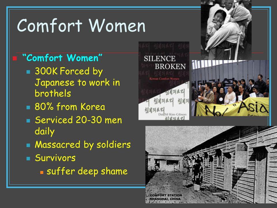 Comfort Women Comfort Women
