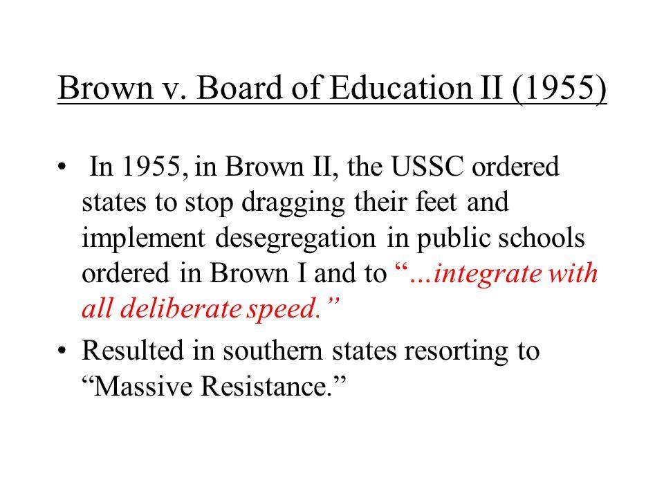 Brown v. Board of Education II (1955)