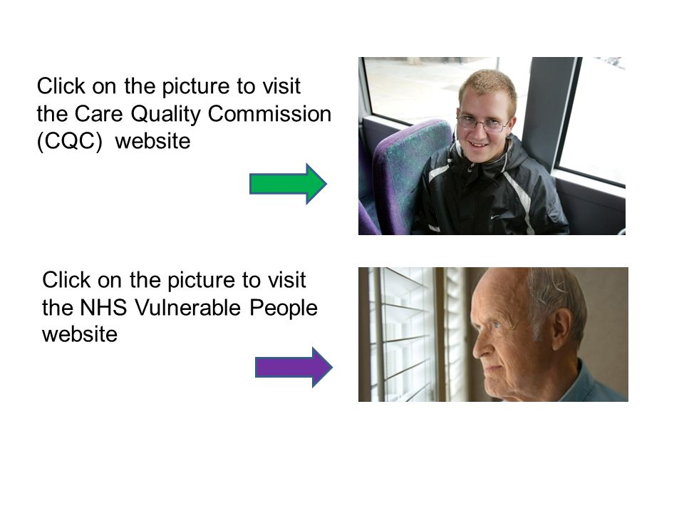 Click on the picture to visit the Care Quality Commission (CQC) website