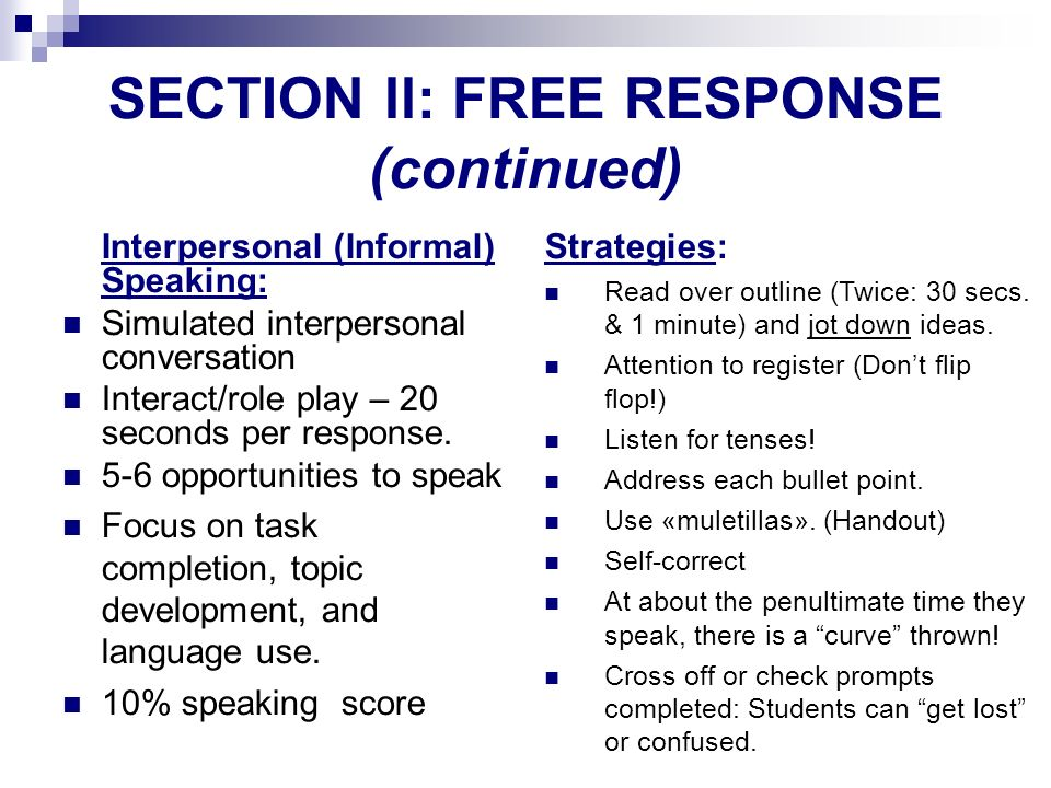 SECTION ll: FREE RESPONSE (continued)‏