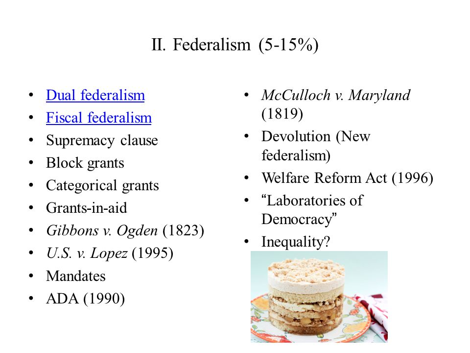 a discussion on dual federalism and commerce clause Foreword: federalism and anti-federalism as civil rights tools the various authors' views as jumping-off points for further discussion gress's commerce clause power4 balancing concern with an appreci.