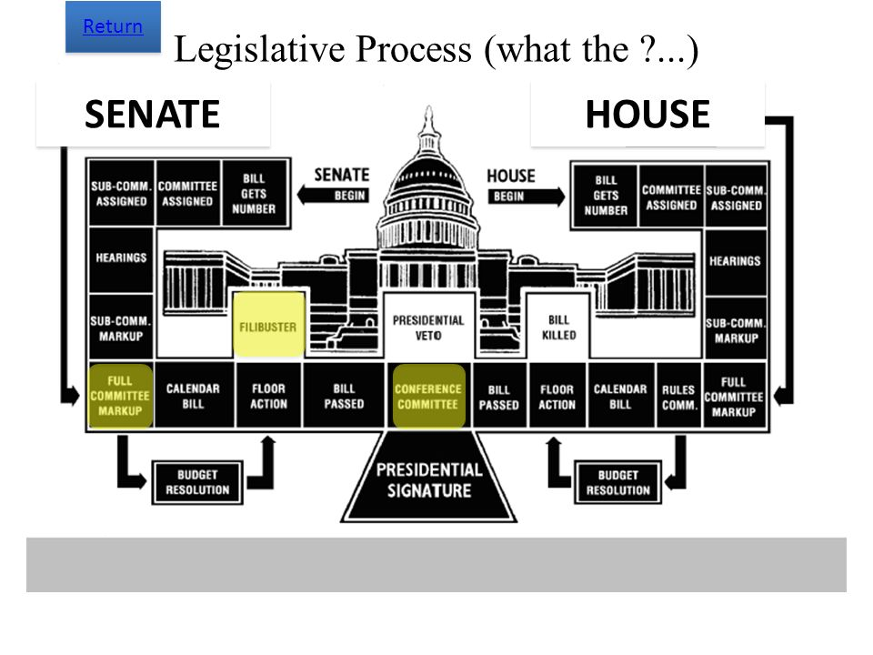 Legislative Process (what the ...)