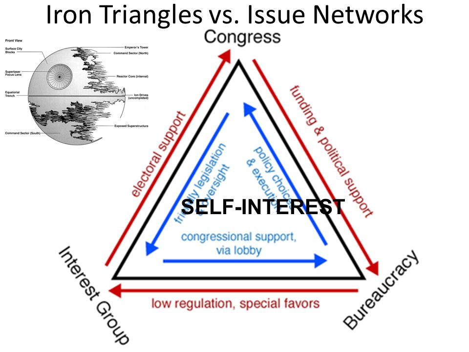 Iron Triangles vs. Issue Networks
