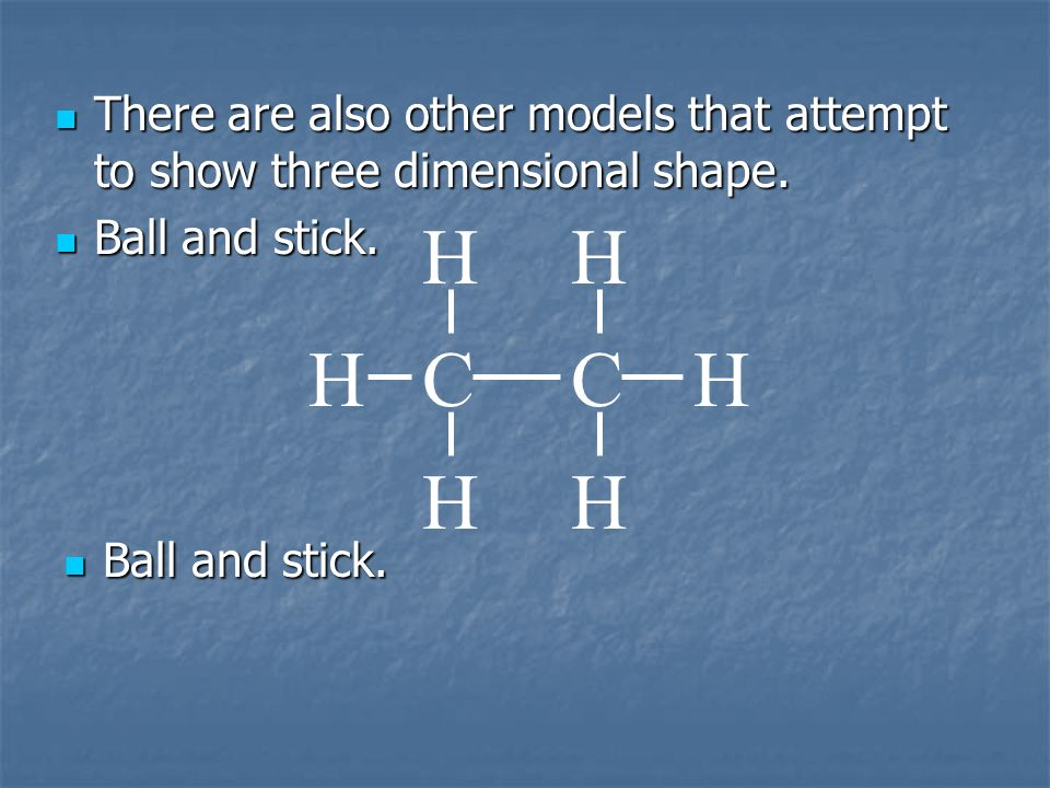 There are also other models that attempt to show three dimensional shape.