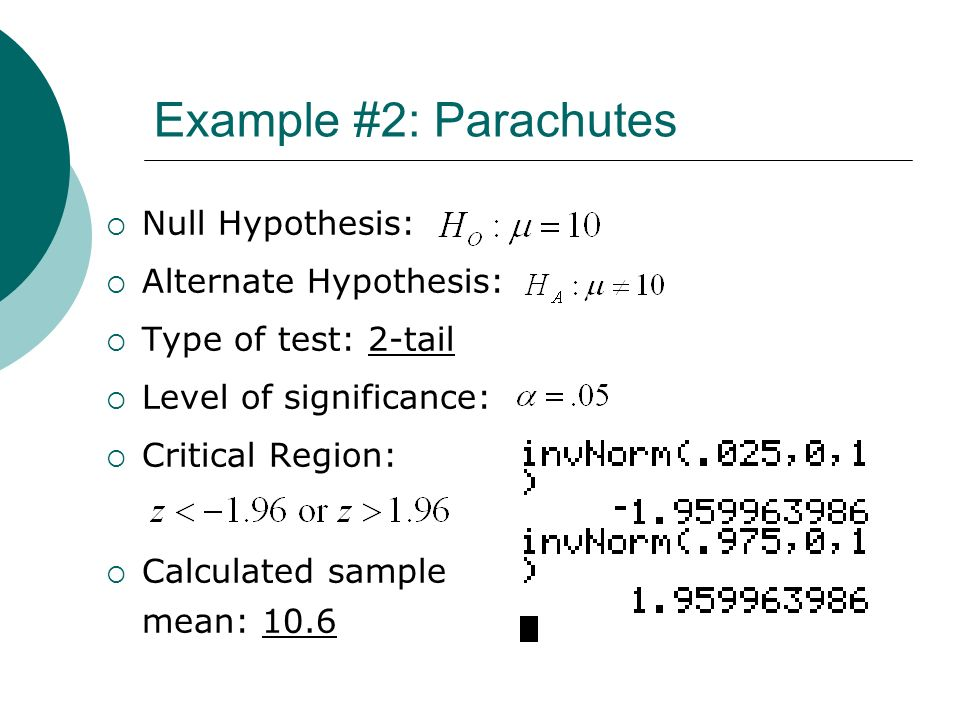 sle of hypothesis exles of null hypothesis testing chapter 10 introduction