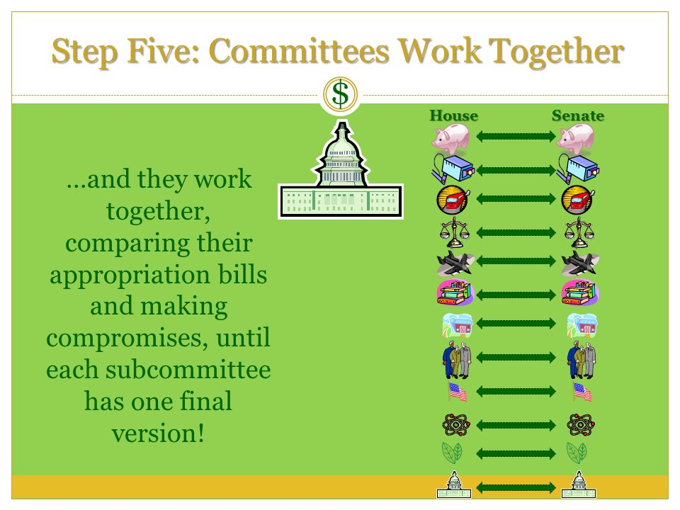 Step Five: Committees Work Together