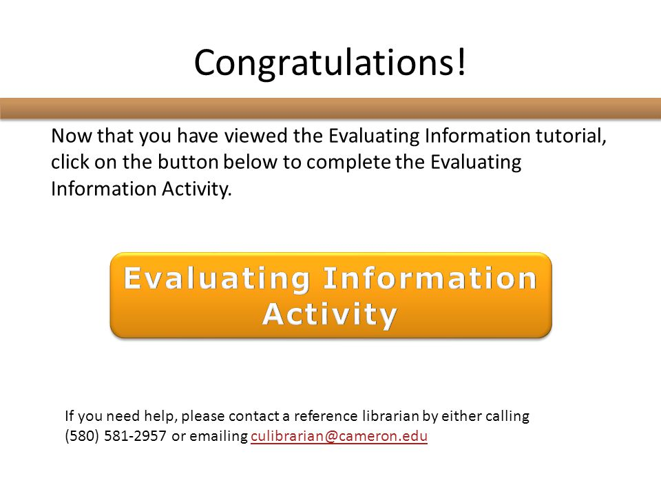 Evaluating Information Activity