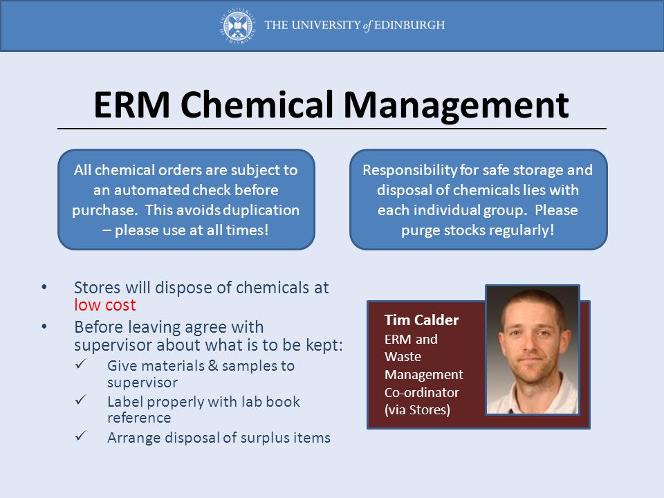 ERM Chemical Management