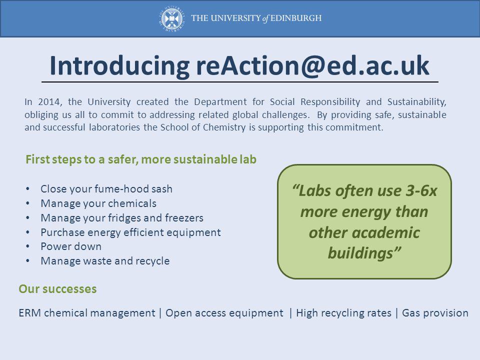 Introducing reAction@ed.ac.uk