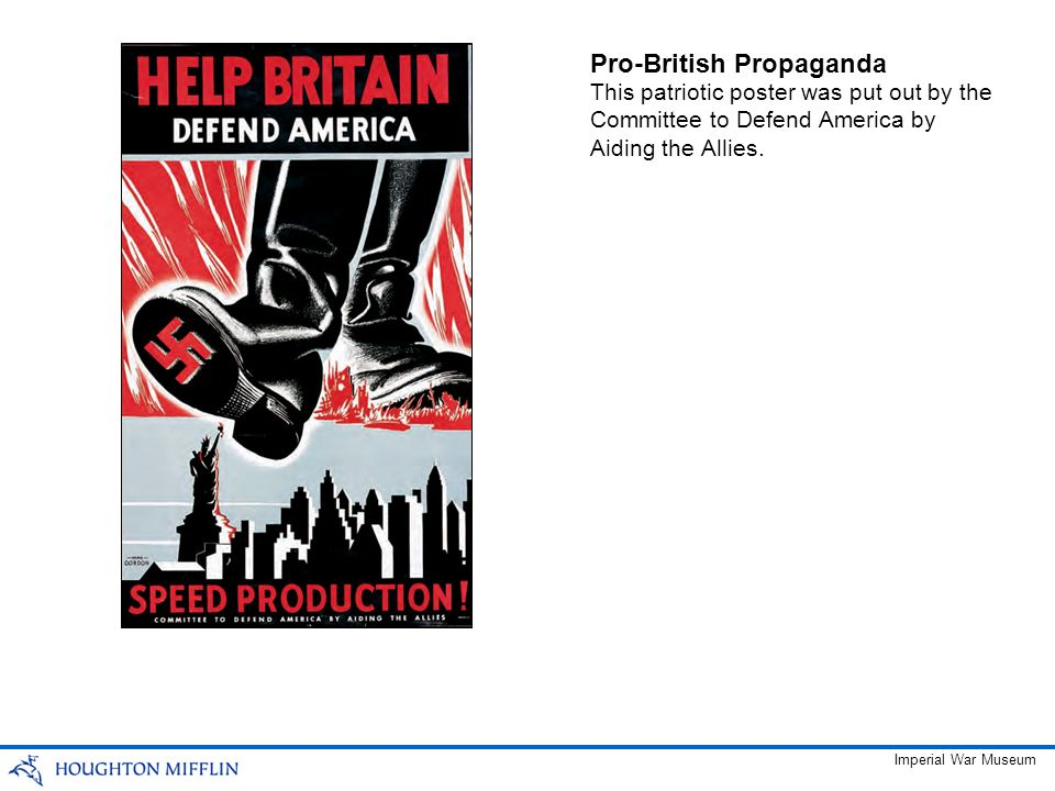 Pro-British Propaganda