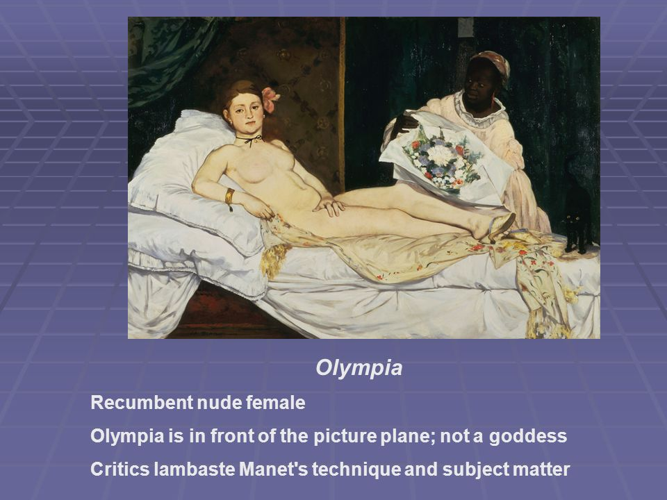 Olympia Recumbent nude female