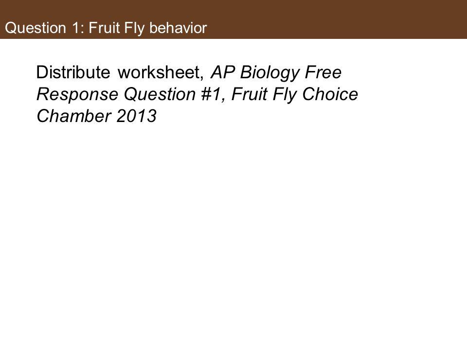 ap biology essay questions 2013