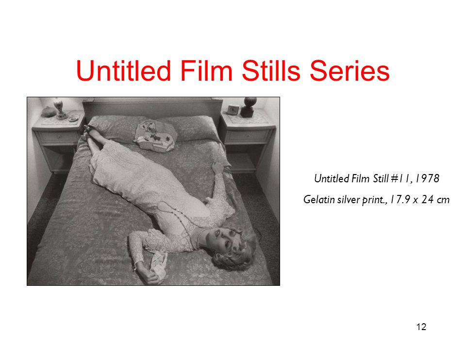 Untitled Film Stills Series