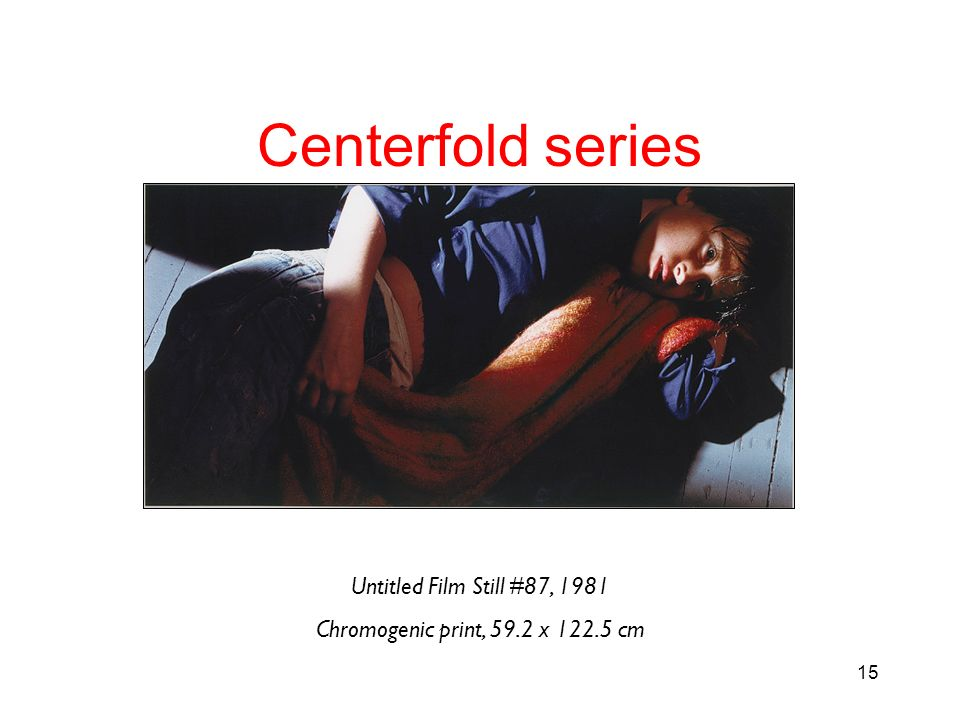 Centerfold series Untitled Film Still #87, 1981