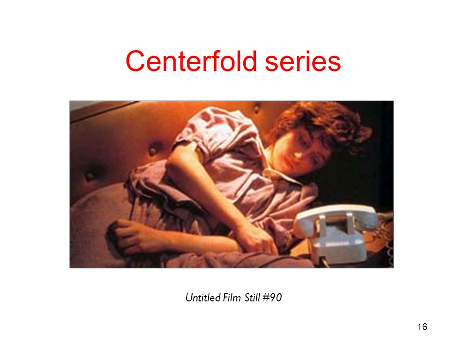 Centerfold series Untitled Film Still #90