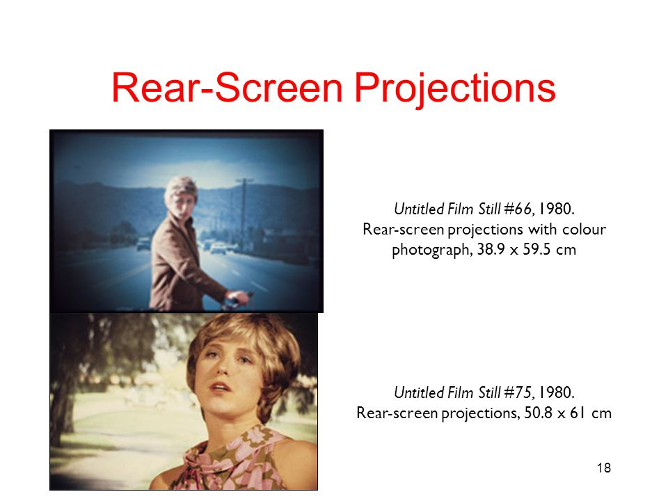 Rear-Screen Projections