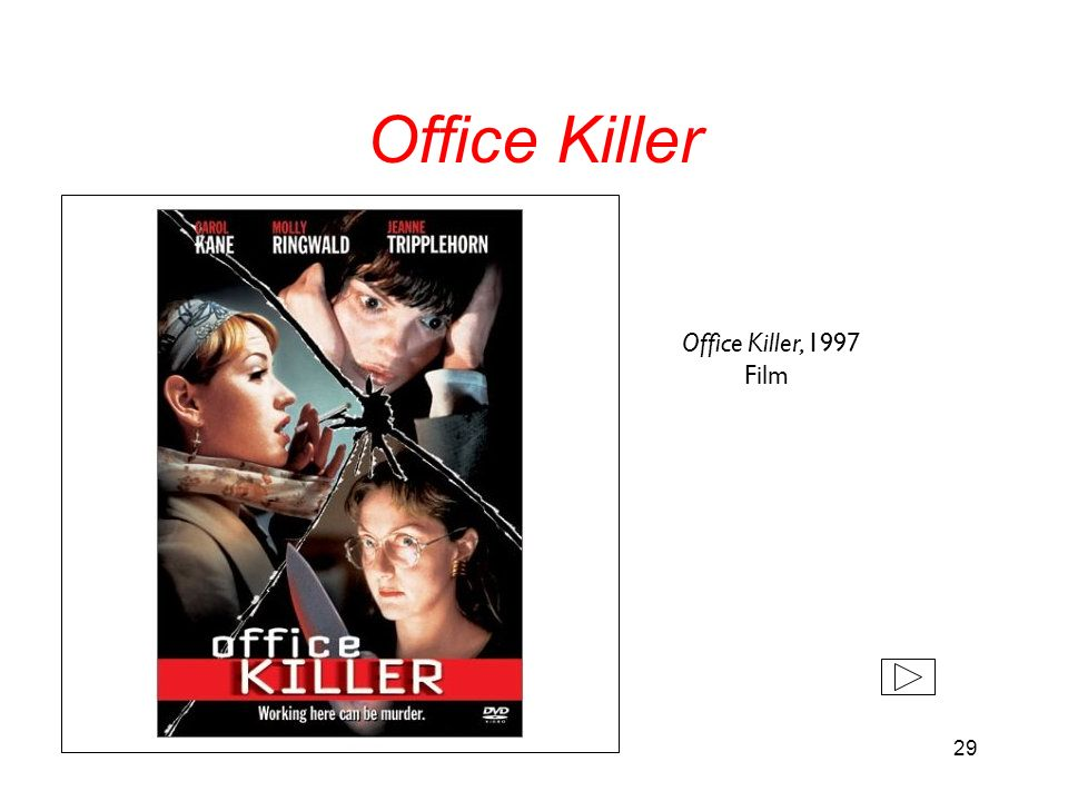 Office Killer Office Killer, 1997 Film