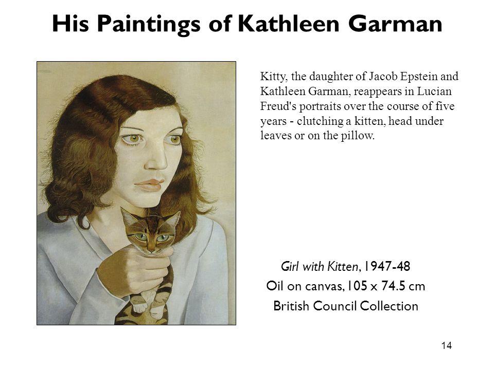 His Paintings of Kathleen Garman