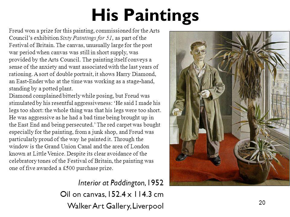 His Paintings Interior at Paddington, 1952