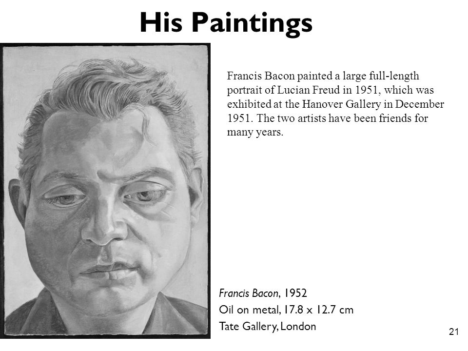 His Paintings