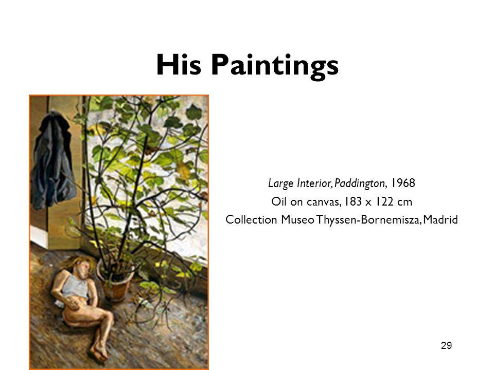 His Paintings Large Interior, Paddington, 1968