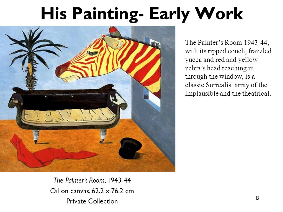 His Painting- Early Work
