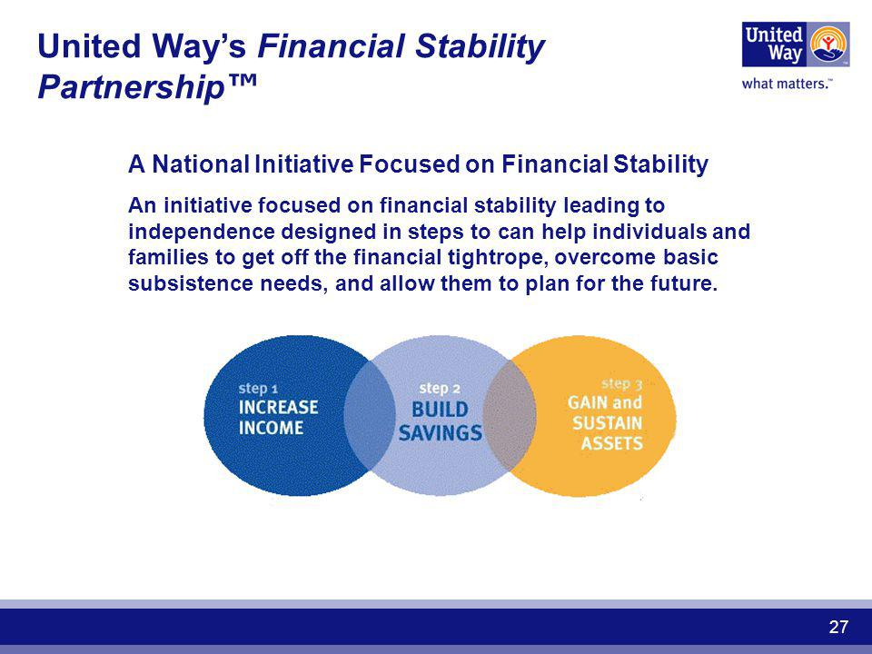 United Way's Financial Stability Partnership™
