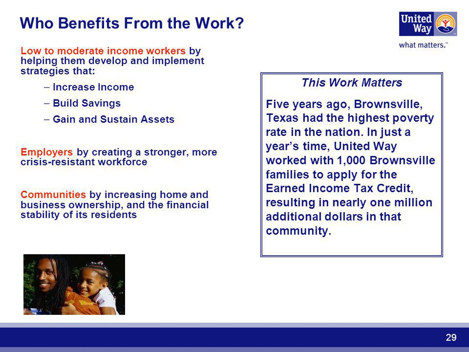 Who Benefits From the Work