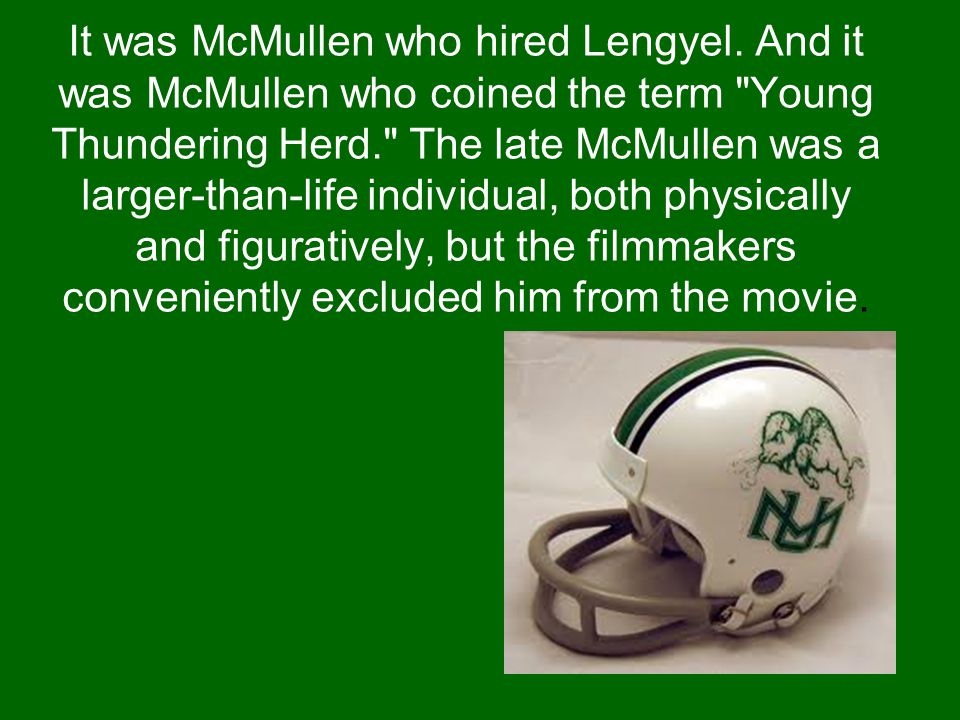 It was McMullen who hired Lengyel