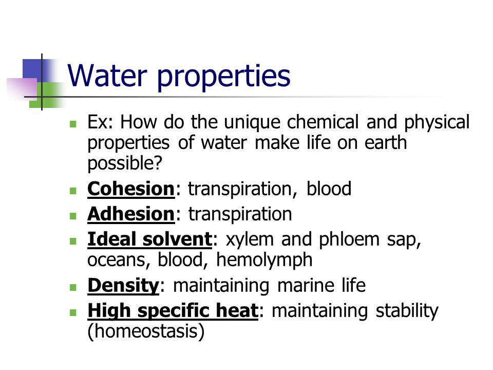 ap biology the properties of water essay Essay on biology properties of water lab6/12/14 properties of water question does mixing water with other substances change it's boiling point research the boiling point of a liquid is when the temperature causes the vapor pressure to be equal to the air air density will change waters boiling point.