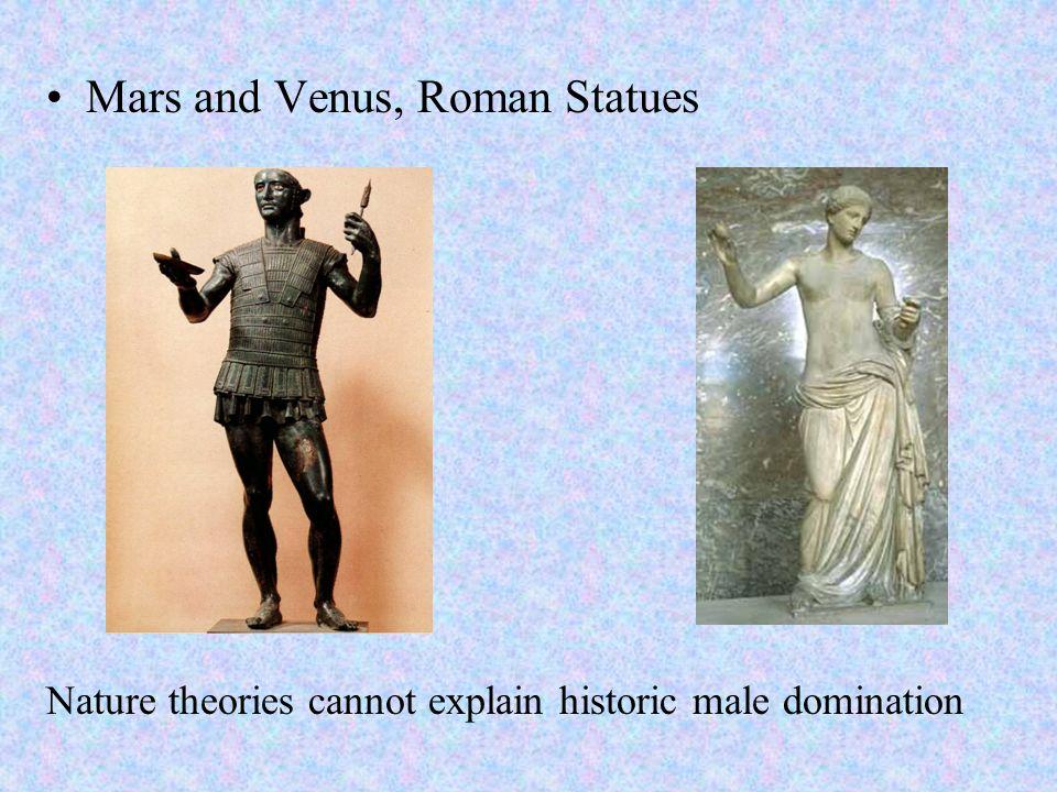 Mars and Venus, Roman Statues