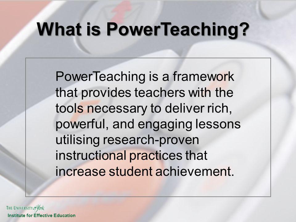 What is PowerTeaching
