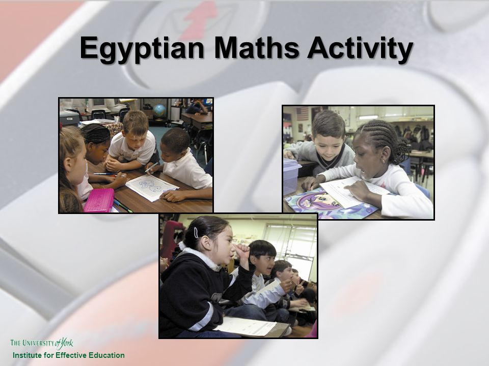 Egyptian Maths Activity