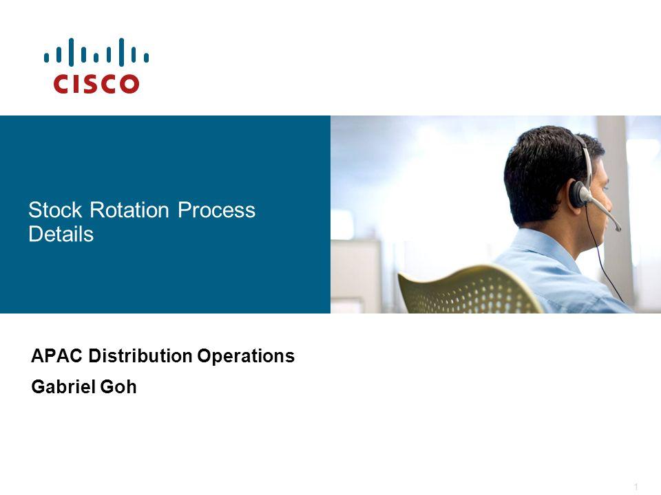 Stock Rotation Process Details
