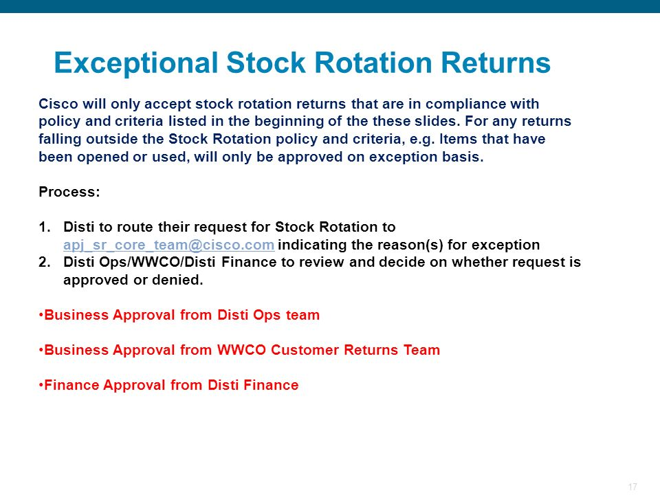Exceptional Stock Rotation Returns