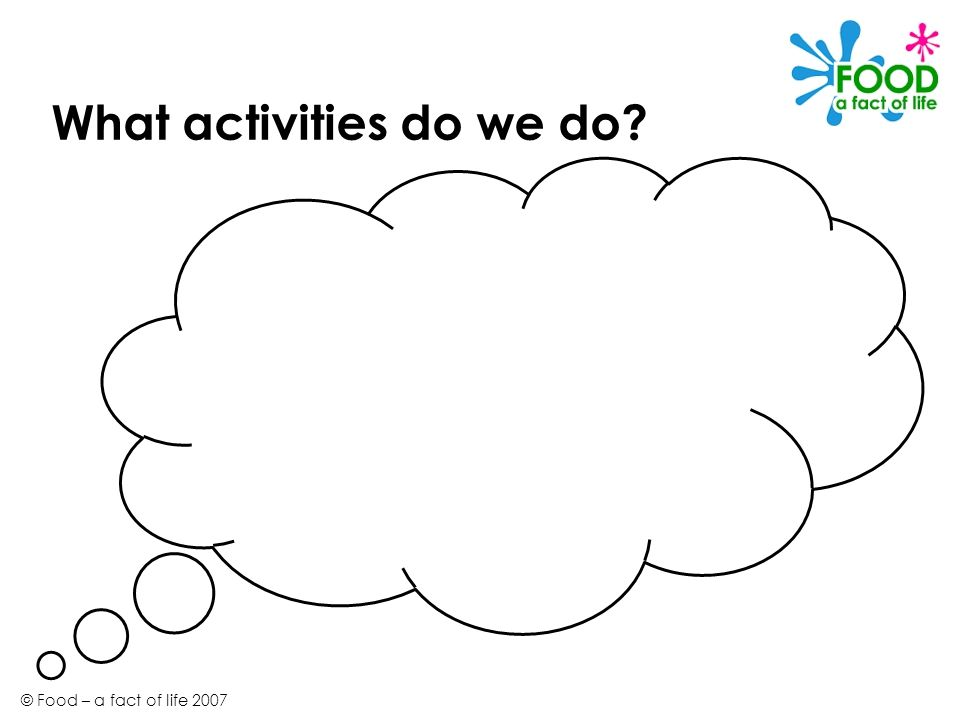 What activities do we do