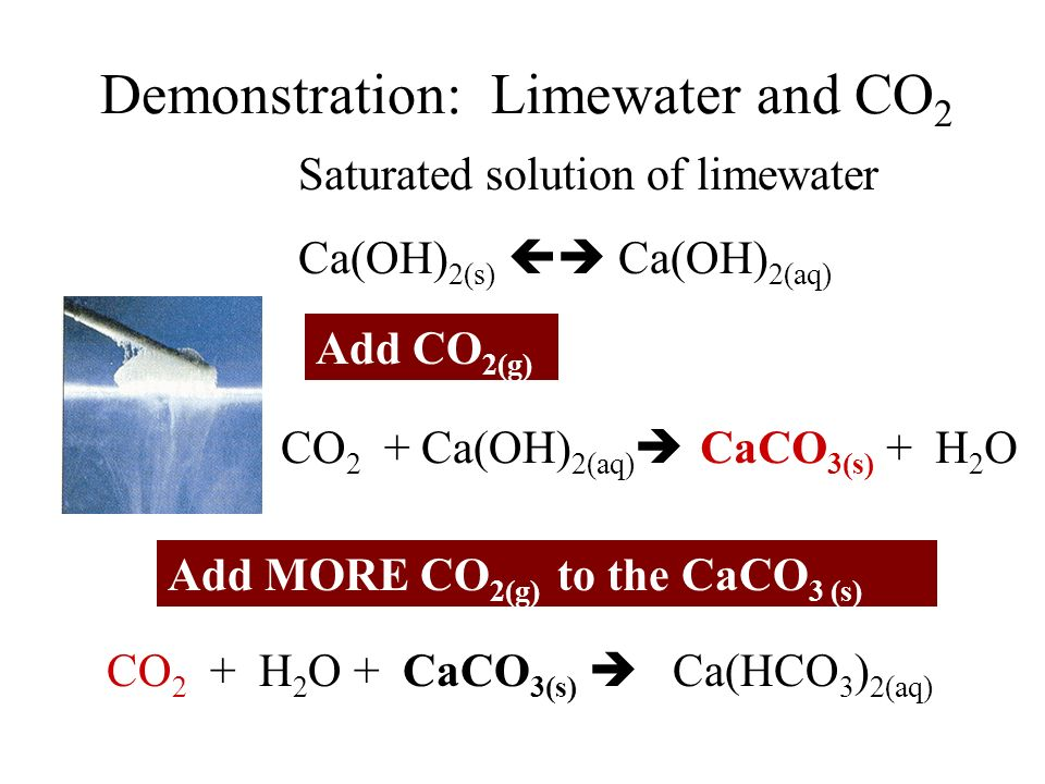 Demonstration: Limewater and CO2