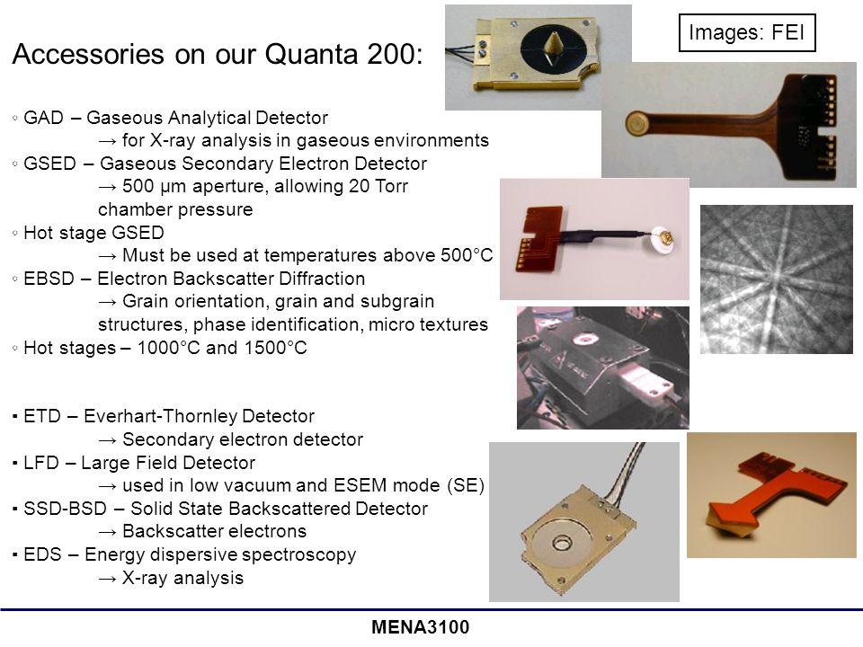 Accessories on our Quanta 200: