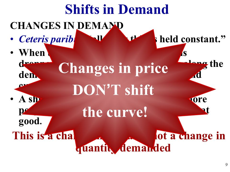 This is a change in demand, not a change in quantity demanded