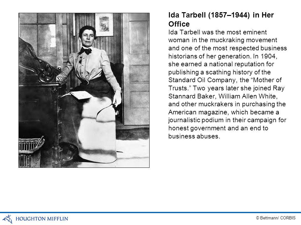 Ida Tarbell (1857–1944) in Her Office