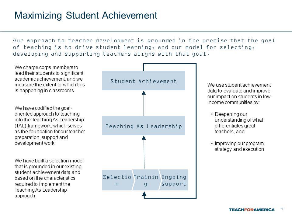Maximizing Student Achievement