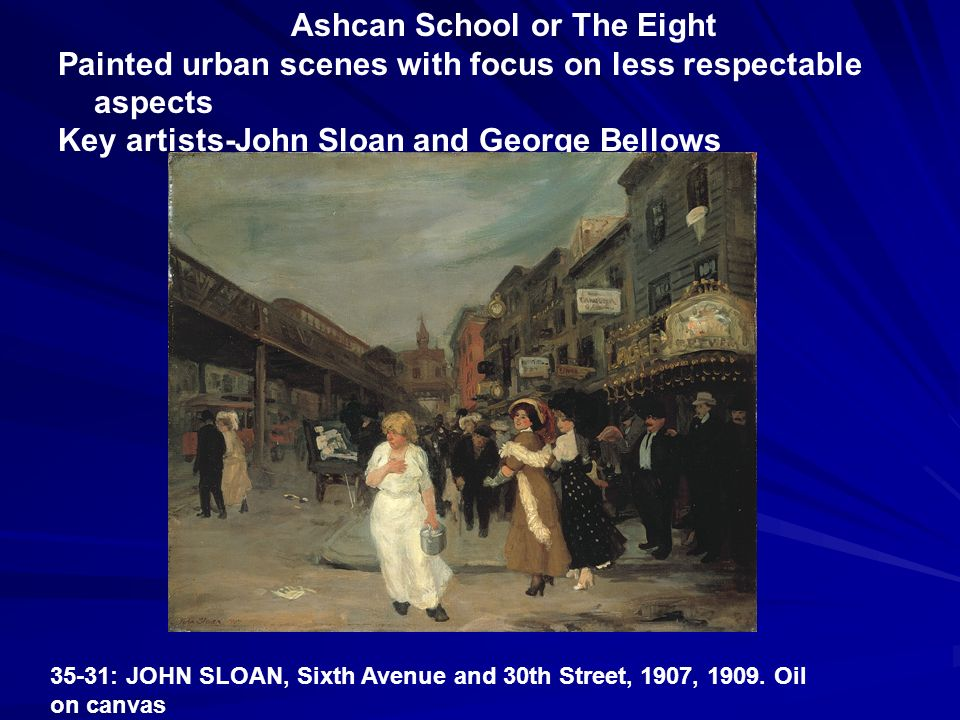Ashcan School or The Eight