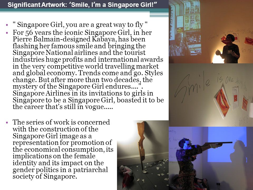 Singapore Girl, you are a great way to fly
