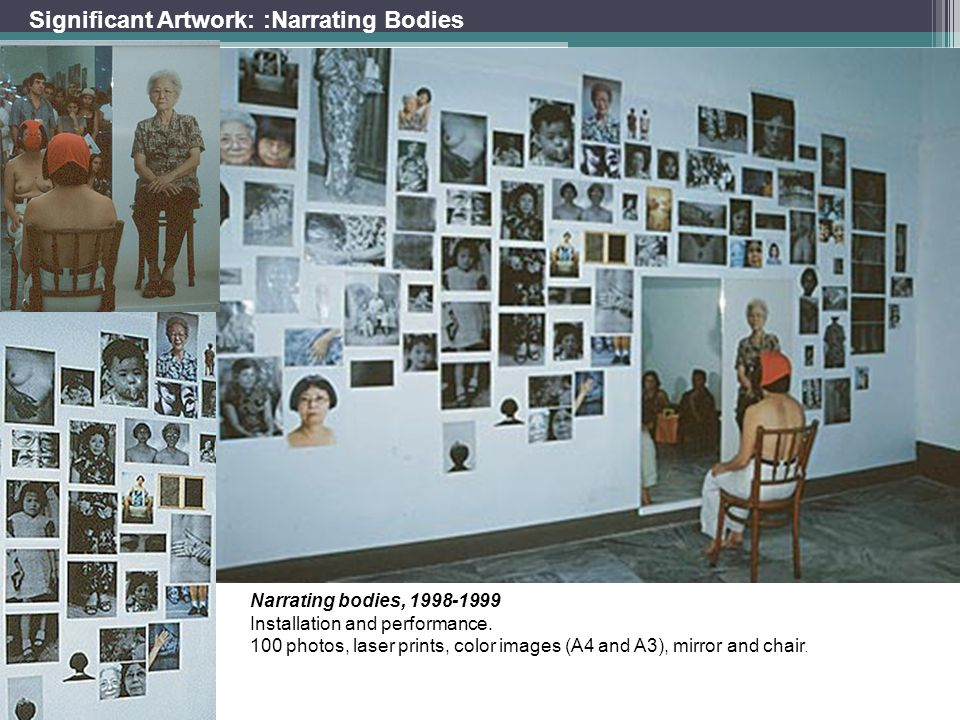 Significant Artwork: :Narrating Bodies