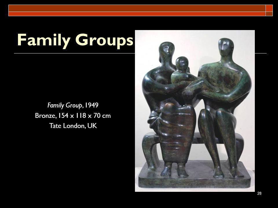 Family Groups Family Group, 1949 Bronze, 154 x 118 x 70 cm