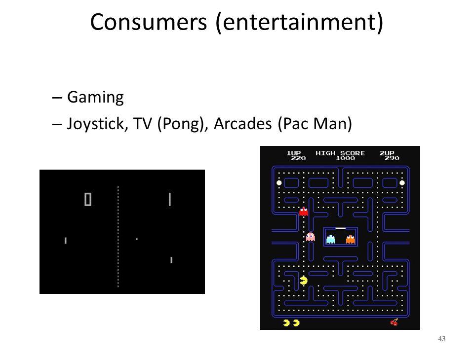 Consumers (entertainment)