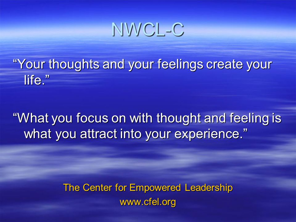 The Center for Empowered Leadership