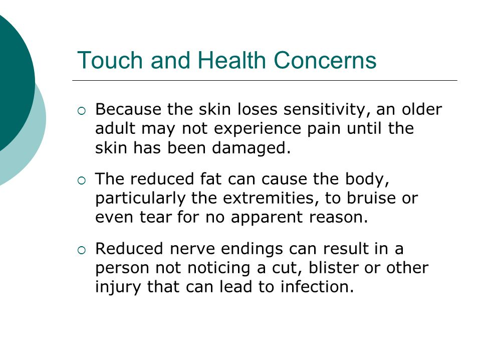 Touch and Health Concerns