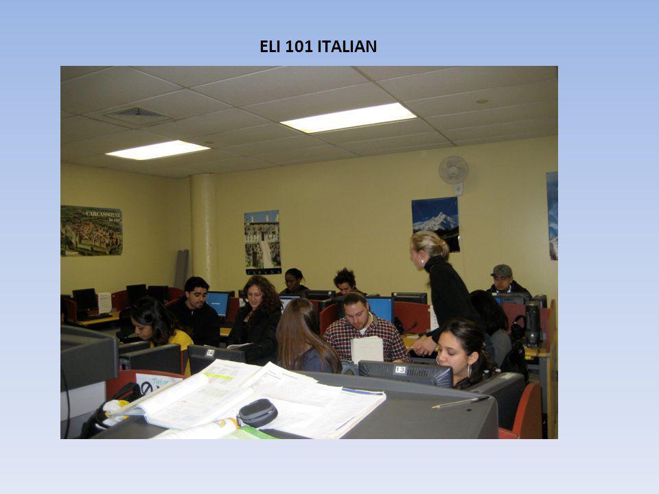 ELI 101 ITALIAN