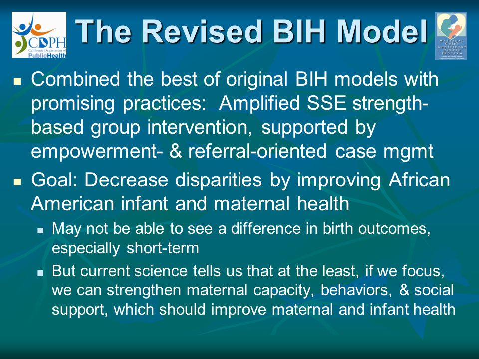 The Revised BIH Model